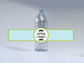 Little Man - Birthday Party Water Bottle Sticker Labels - Set of 10