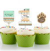 """Wild One"" Theme Cup Cake Topper Birthday Decoration (Pack Of 12)"