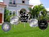25Th Anniversary Or Silver Jubliee Anniversary Cutout Pack For Birthday Decoration - Pack Of 5