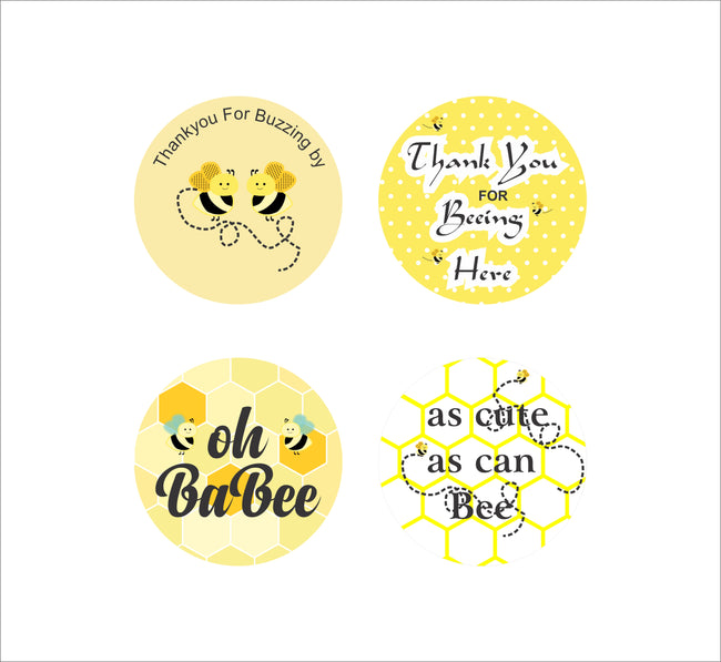 """What Will It BEE"" -Baby Shower Favor Gift Tags - Pack of 20"