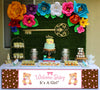 """Baby Girl Its A Girl"" Long Banner for Wall Decoration, Cake Area, Entrance - Perfect for baby welcome"