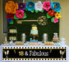 18th Milestone Banner for Wall Decoration, Cake Area, Entrance - Perfect for Birthday Party