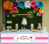 Spa Party - Girl  Long Banner for Wall Decoration, Cake Area, Entrance - Perfect for Birthday Party (Long Banner)