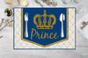 """CROWN PRINCE ""-TABLE MATS BIRTHDAY BABY WELCOME (Pack of 6)"