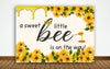 """What Will It Bee"" Baby Shower Party Backdrop For Photography Banner Cake Table Decor Home Decoration Photo Booth Background"