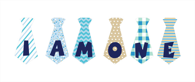 """I AM ONE "" First Birthday Banner , Bunting & Garland Photo Booth Props Decoration"