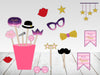 """TWINKLE TWINKLE LITTLE STAR""-GIRLS PARTY PHOTO BOOTH PROPS (PACK OF 20)"