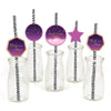 """TWINKLE TWINKLE LITTLE STAR ""-GIRLS BIRTHDAY STRAW SET (PACK OF 25)"