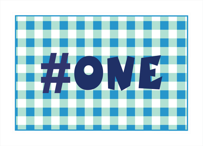 """Fun is One"" Table Placemats for Birthday/ Baby Shower - Pack of 6"