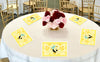 """What Will It BEE "" Table Placemats baby shower- Pack of 6"