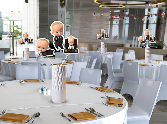 Boss Baby Table Top For Birthday Decoration