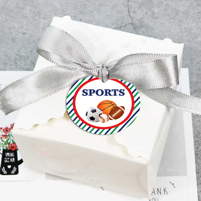 Only Sports - Birthday Party Favor Gift Tags - 20
