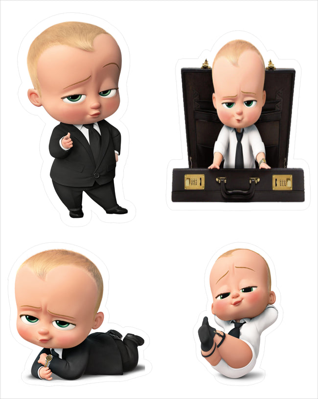 Boss Baby Theme Hanging Set for decoration - Set of 12