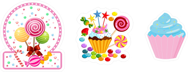 Candy Land Table Top For Birthday Decoration, Baby Shower or decoration