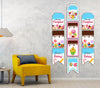 Candy Land - Hanging Vertical Paper Door Banners - Birthday Party Wall Decoration Kit