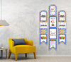 Joyful Birthday Banner for Wall Decoration, Cake Area, Entrance