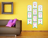 Spa Hanging Vertical Paper Door Banners - Birthday Party Wall Decoration Kit