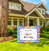 Joyful Birthday  - Welcome Lawn Sign - 1 Piece