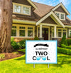 """Two Cool"" -Boys Welcome Lawn Sign, Birthday Party  - 1 Piece"