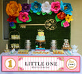 """ONE IS FUN""- GIRL BANNER WALL DECORATION/CAKE AREA/ENTRANCE (DECORATION)"
