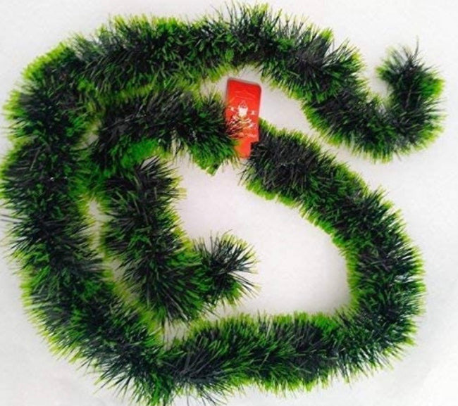 Artificial Green Colour Merry Christmas Strings, Garlands for X mas Christmas Tree Decoration and Home