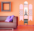 """Oh La La - It's Paris"" Hanging Vertical Paper Door Banners - Birthday Party Wall Decoration Kit"