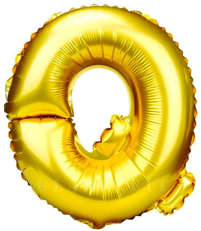 16 inch Q Alphabet Letter Balloons Birthday Balloons Gold Foil Letter Balloons Birthday Party Decorations Kids