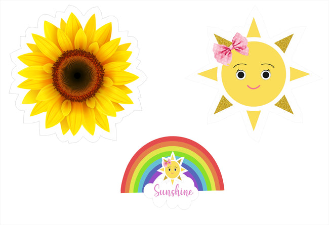 Sunshine Theme  Table Top For Birthday Decoration/Baby Welcome