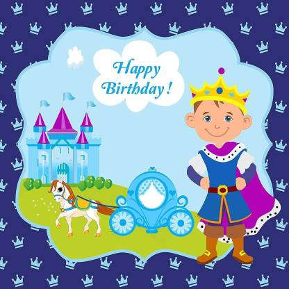 Prince Birthday Party Backdrop For Photography Banner Event Cake Table Decor Home Decoration Photo Booth Background
