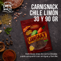 CARNISNACK CHILE LIMON 30 GRS