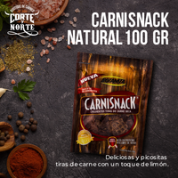 CARNISNACK CERDO CHILE LIMON 100 GR
