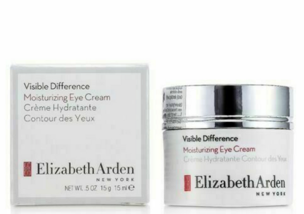 Elizabeth Arden Visible Difference Moisturizing Eye Cream .5 oz