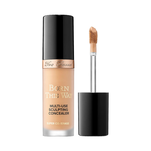 Too Faced Born This Way Super Coverage Concealer  Natural Beige  0.50 Oz