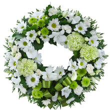 Load image into Gallery viewer, Memorial Wreath (Select Size and Colour)