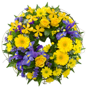 Memorial Wreath (Select Size and Colour)