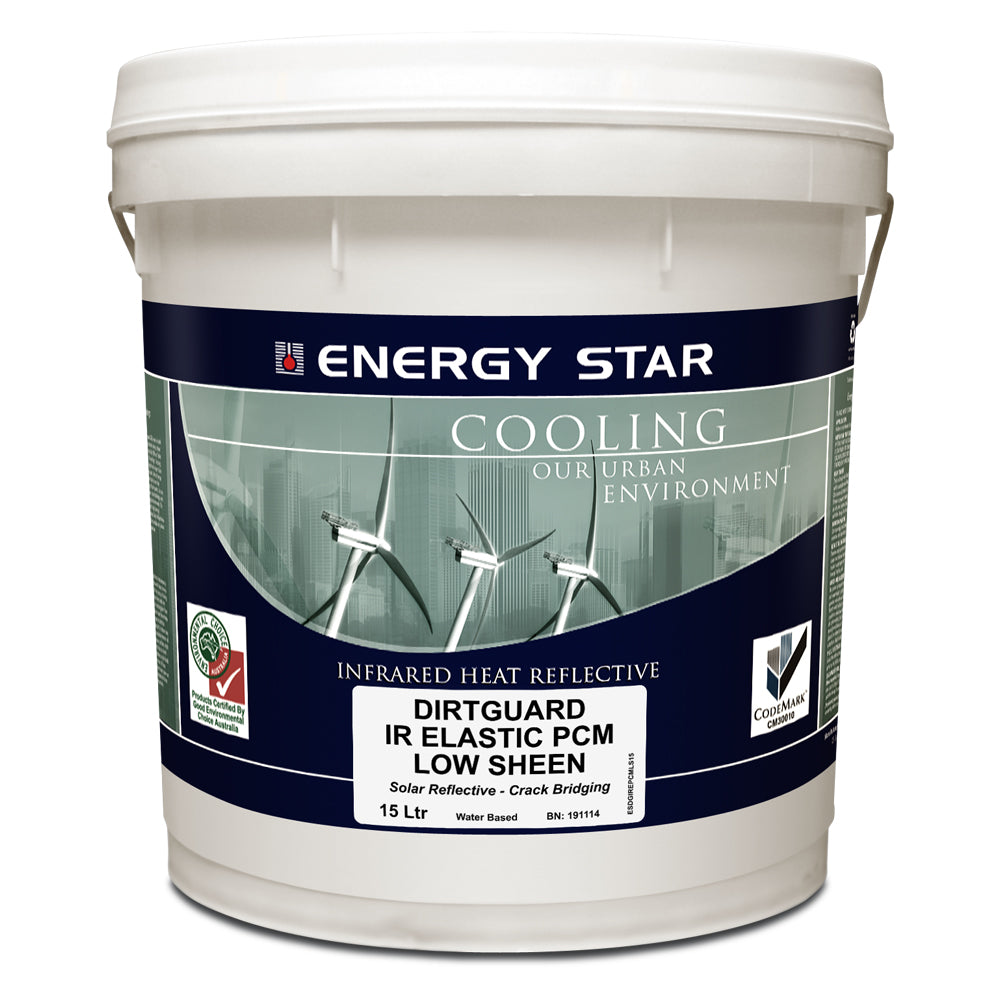 Energy Star Dirtguard IR Elastic PCM Low Sheen