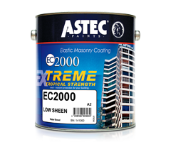 Astec Paint EC-2000 Extreme Low Sheen Elastomeric Paint