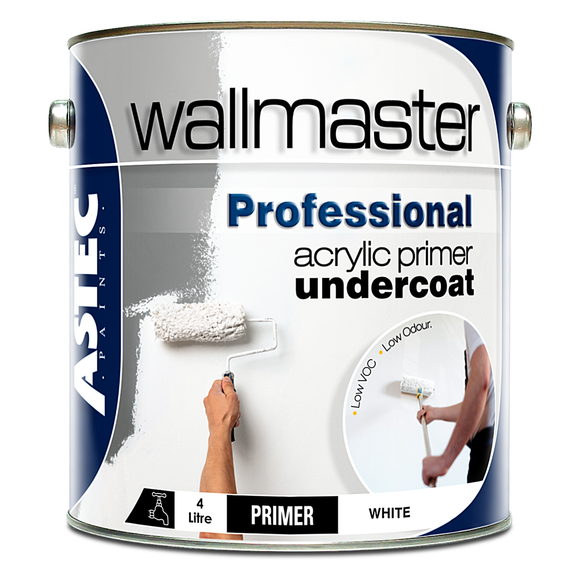 Wallmaster Paints Professional Acrylic Primer Undercoat Paint