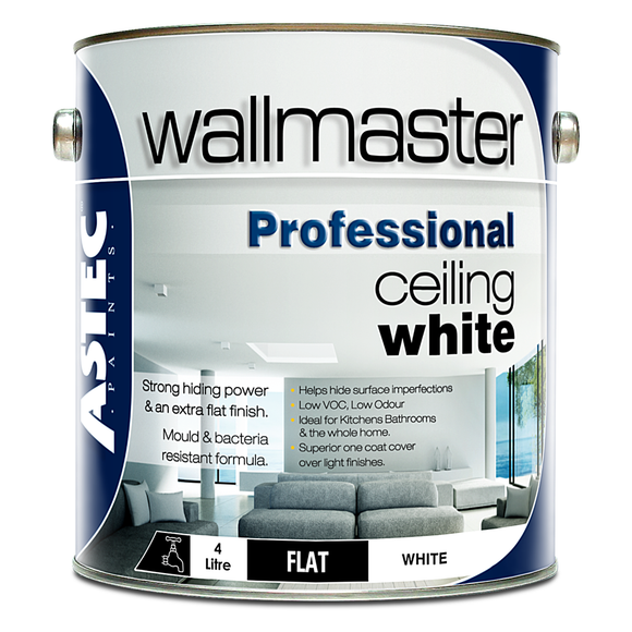 Wallmaster Paints Professional Ceiling White Paint