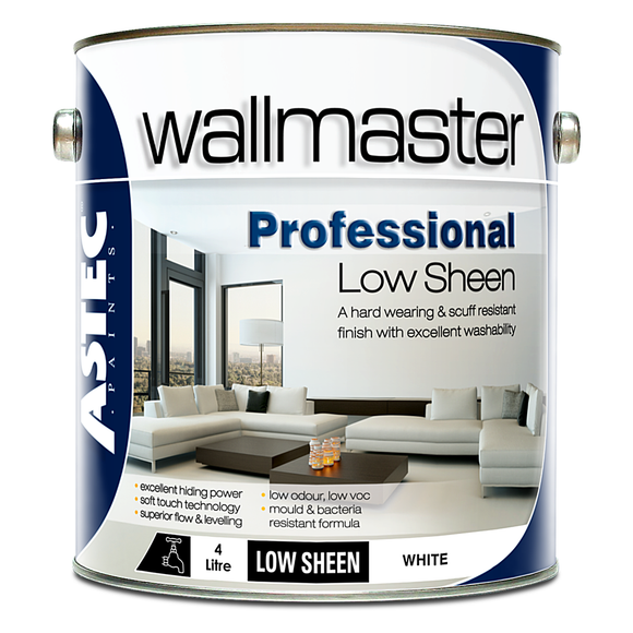 Wallmaster Paints Professional Low Sheen Paint