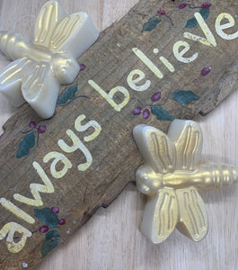 Set of 2 - Golden Dragonfly Soaps