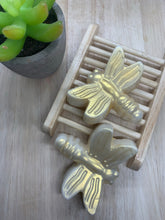 Load image into Gallery viewer, Set of 2 - Golden Dragonfly Soaps