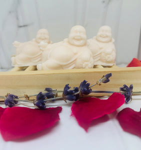 Set of 3 - Little Laughing Buddhas 60g / Gift Boxed