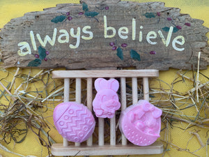 Easter Soaps 60g - Set of 3 - Gift Boxed