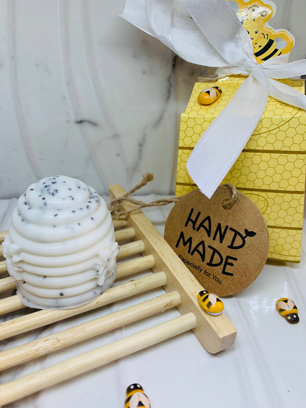 Honeycomb Hand Soap Gift Box Set 60g