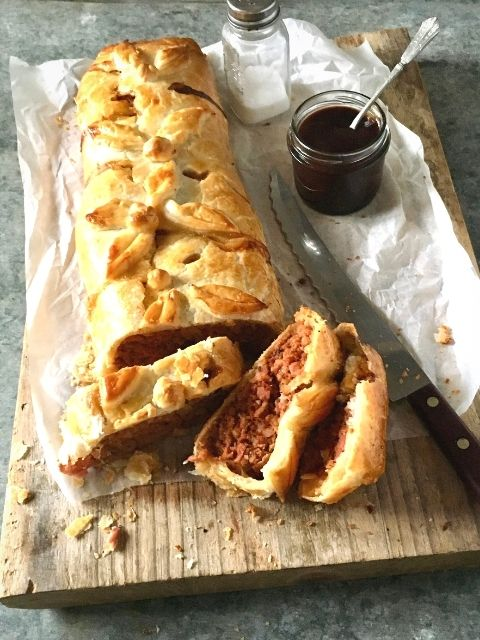 Family Barbecue Pork Sausage Roll