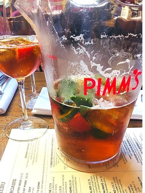Pimms Classic Punch