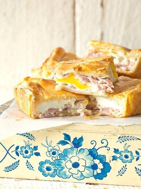 Classic Bacon and Egg Pie