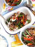 Chilli Beef and Roasted Peanut Stir-fry