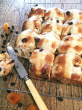 Hot Cross Buns - Apricot and Chocolate Chip